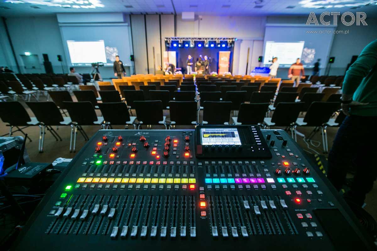 nagłośnienie konferencji Katowice