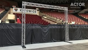 konstrukcja pod baner reklamowy Katowice